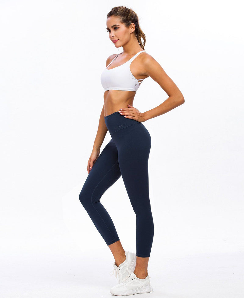 Women Yoga Leggings High Waisted Buttery-Soft 7/8 Length Pants 90826