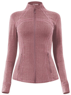 Women's Sports Define Jacket Slim Fit and Cottony-Soft Handfeel -60927-NEW RELEASE