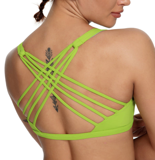 Women Yoga Light Support Free To Be Sport Bra 77889-NEW RELEASES