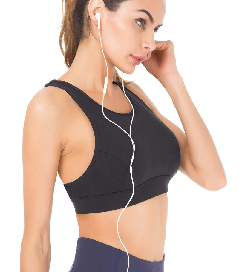 Women's Medium Support Phone Back Pockets Energy Sport Bra - 70927