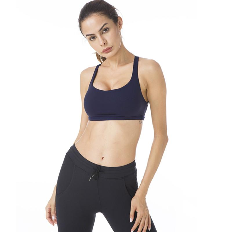 Women Yoga Light Support Free To Be Sport Bra - Queenie Ke