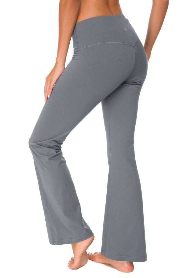 Classic Dress Pant Yoga Pants (Grey)