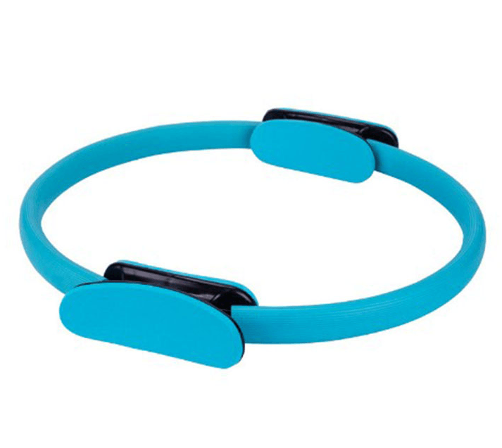 "Pilates Ring 15"" Fitness Circle - Lightweight & Durable Foam Padded Handles"