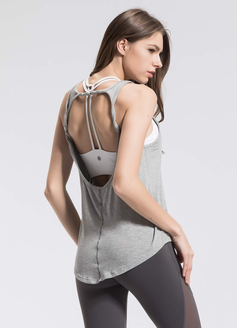 Tank Tops For Women - grey - gray