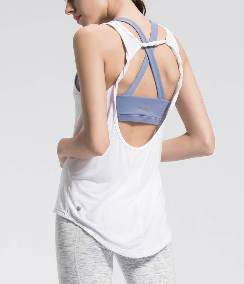Tank Tops For Women - white