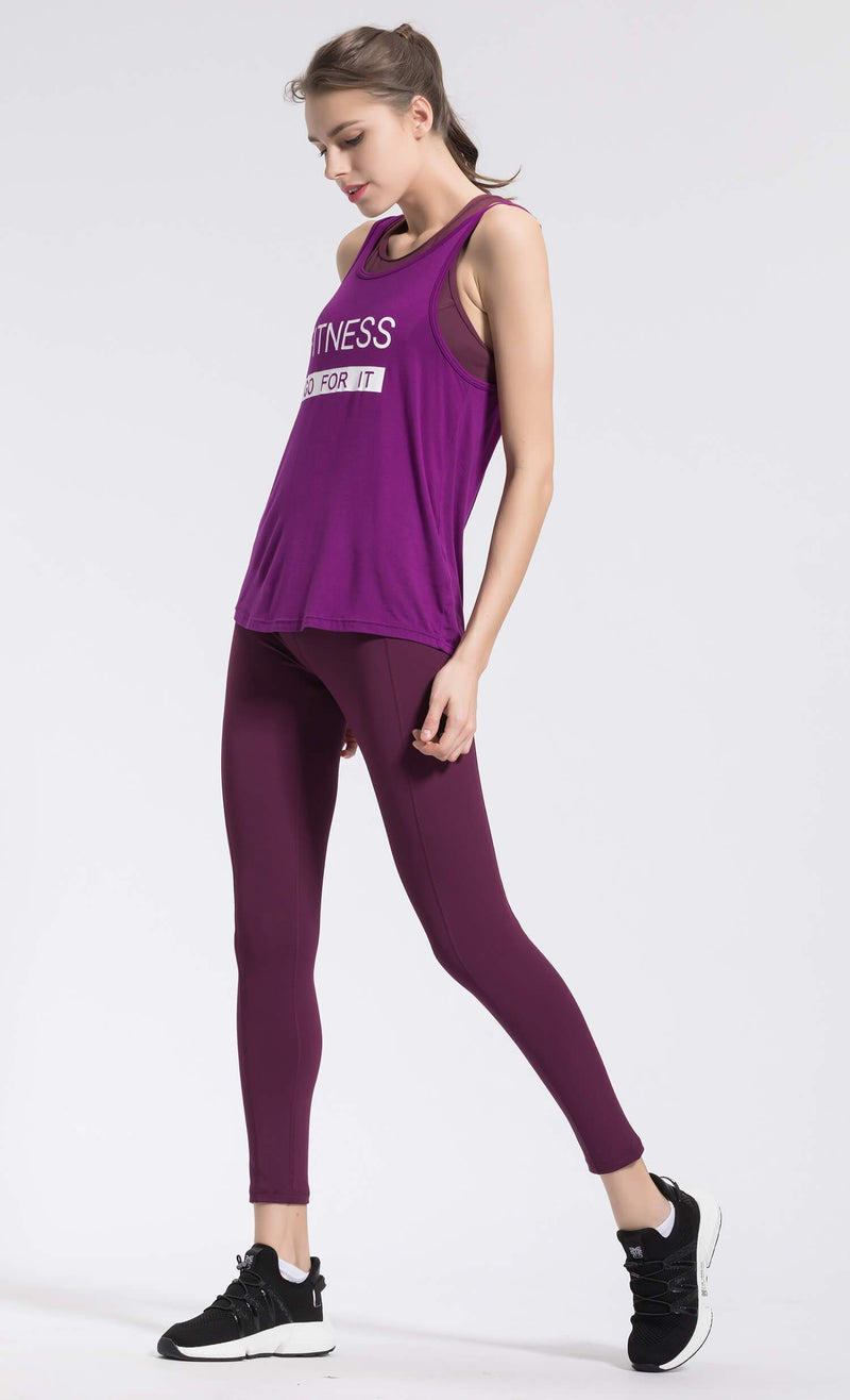Tank Tops For Women - purple