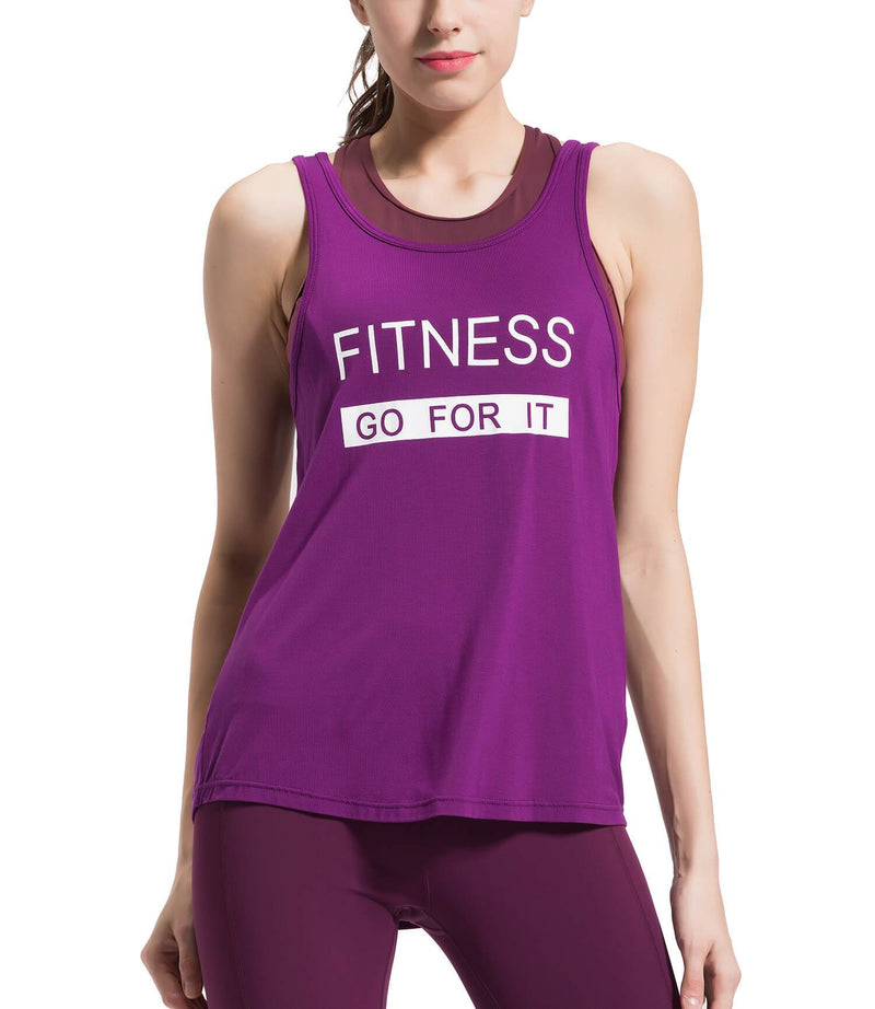 Women Cowl Back Yoga Sleeveless Shirts Super Soft Knit Sports Tank