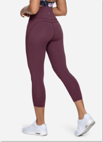 Yoga Capris High Waist Tummy Control Non See-Through Yoga Leggings for Women 20804 NEW RELEASES