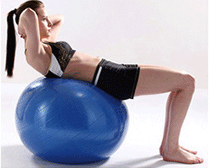 Fitness Ball for Balance and Core Fitness for Women