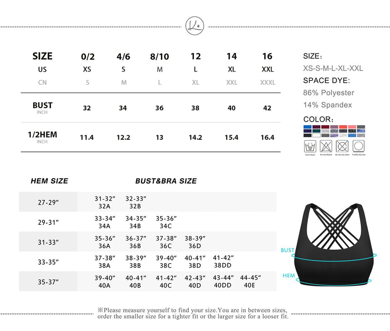 Women Yoga Light Support Free To Be Sport Bra 77889- Top Black