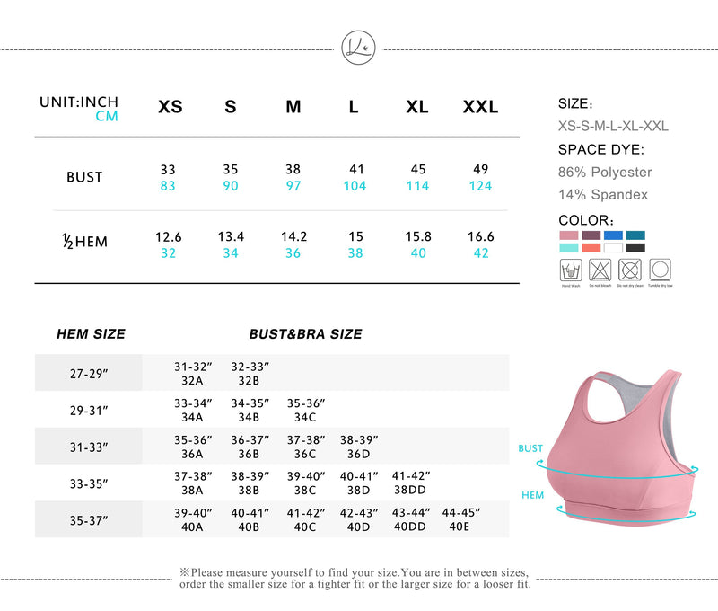 Women's Medium Support Phone Back Pockets Energy Sport Bra - Queenie Ke