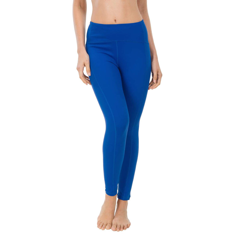 Women Ninth Power Flex High Waist Gym Running Tights - Xs / Blue - Bottoms
