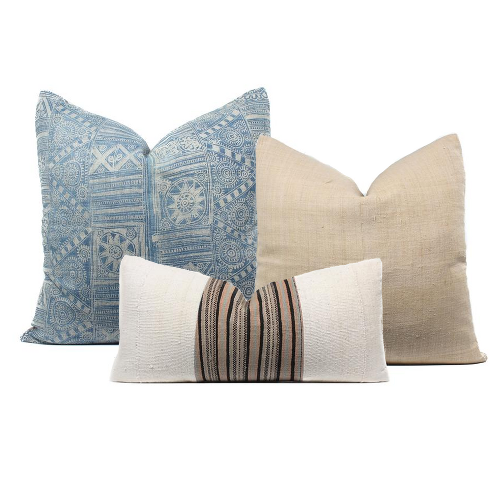 Boho Pillow Combo Three's a Charm