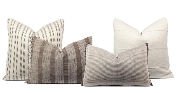 Boho Pillow Combo Neutrals