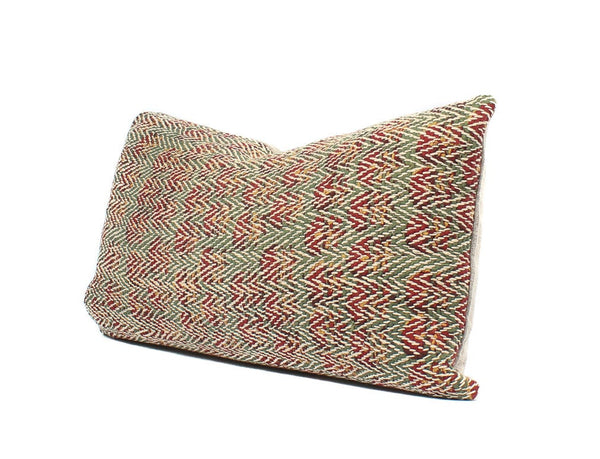 Boho Pillow Indian Quilted Lumbar, SKU12266