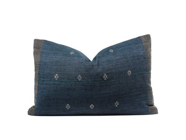 Boho Pillow Sweet Indigo Combo