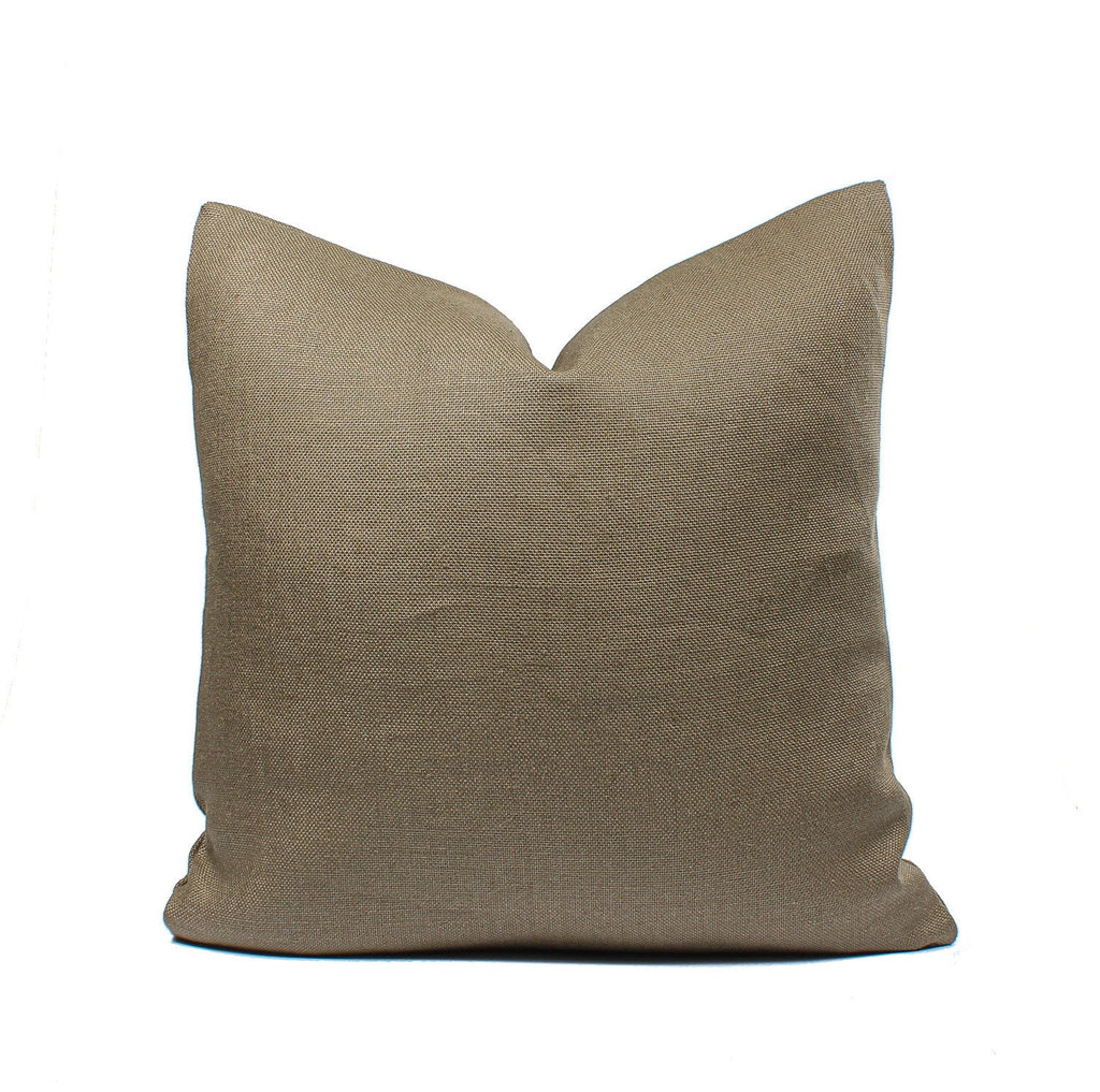 Peat Linen Pillow Cover SKU02091SH
