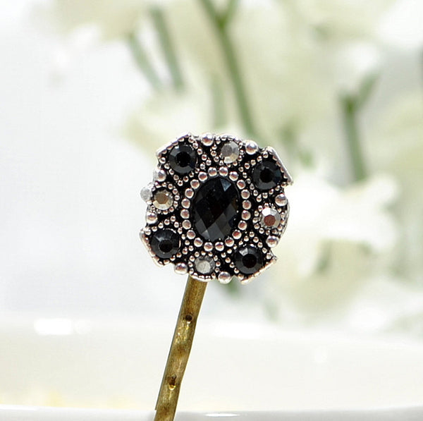 Hair Pin Black Bobby Pin Small
