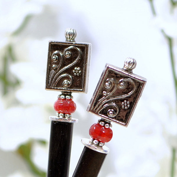 "Hair Chopsticks Handmade Hair Pins - ""The Dream"""