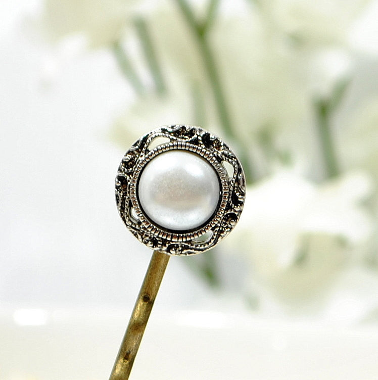 Pearl Bobby Pin Hair Pin Small