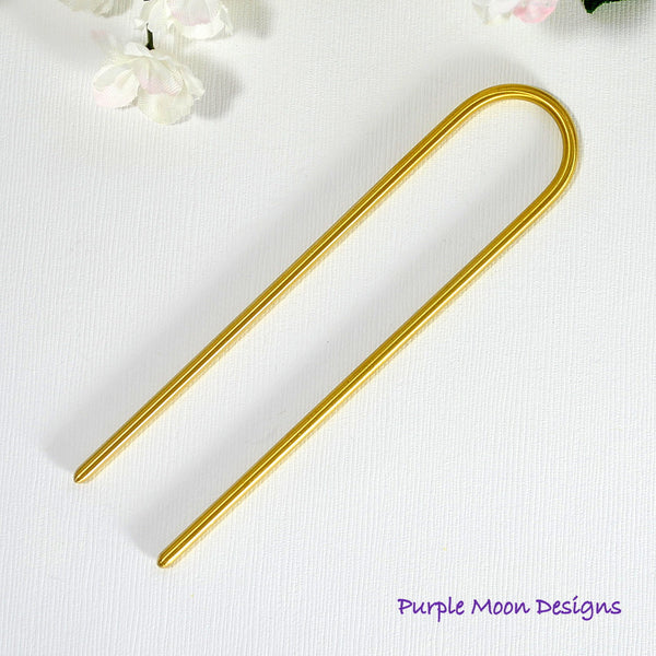Brass Fork, 4 inch - Purple Moon Designs - 1
