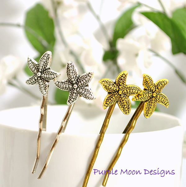 Starfish Bobby Pin Beach Hair Pin