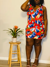 Load image into Gallery viewer, CORAL FLORAL BODYCON (2XL)