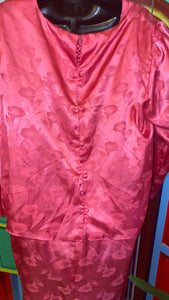 Vintage Barbie Pink STAR WORLD Dress (18)
