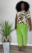Load image into Gallery viewer, Vintage Green Play Pants (2X)