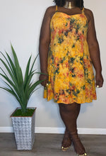 Load image into Gallery viewer, VINTAGE Joan Harrison TIE-DYE DRESS (XXXL)