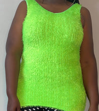 Load image into Gallery viewer, Fuzzy Bodycon Mini Dress / Top (L)