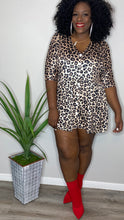 Load image into Gallery viewer, Leopard Swing Dress (FITS UP TO 3X)