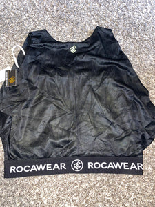 ROCAWEAR NET CROP TOP (LARGE)
