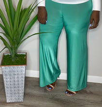 Load image into Gallery viewer, Mint Palazzo Pants (1X/2X)
