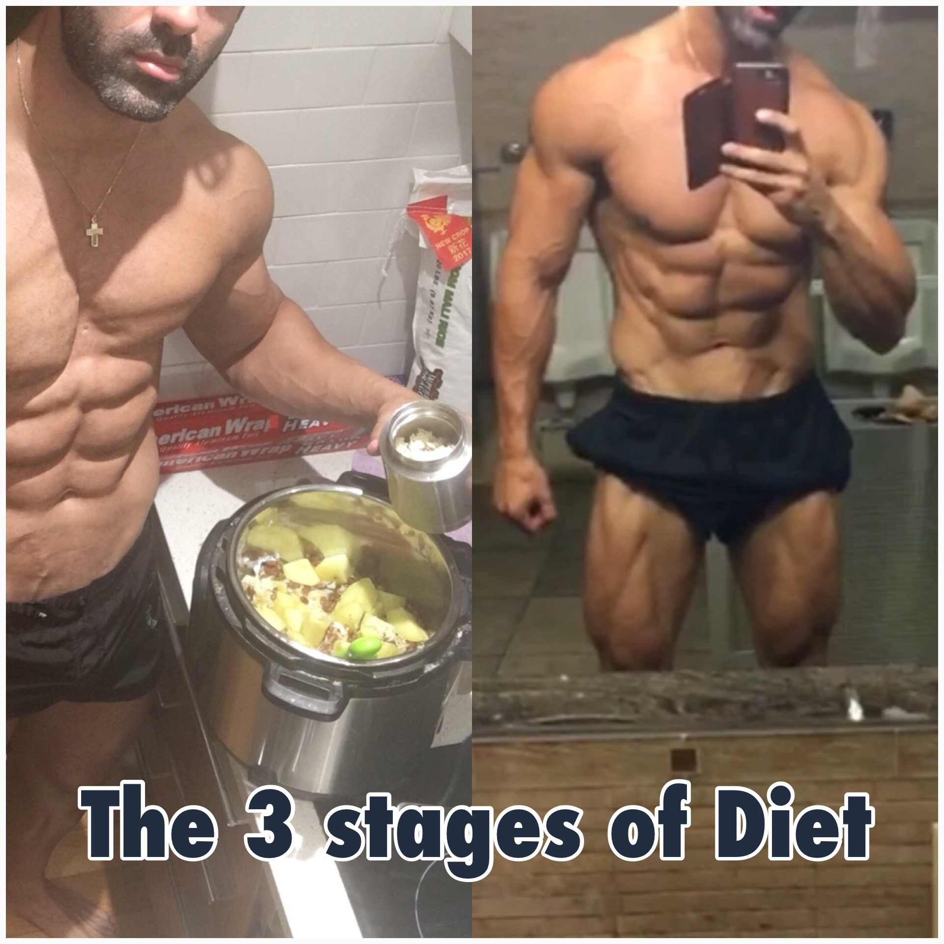 Muscle meals: The 3 stages to your dream body. Must read!