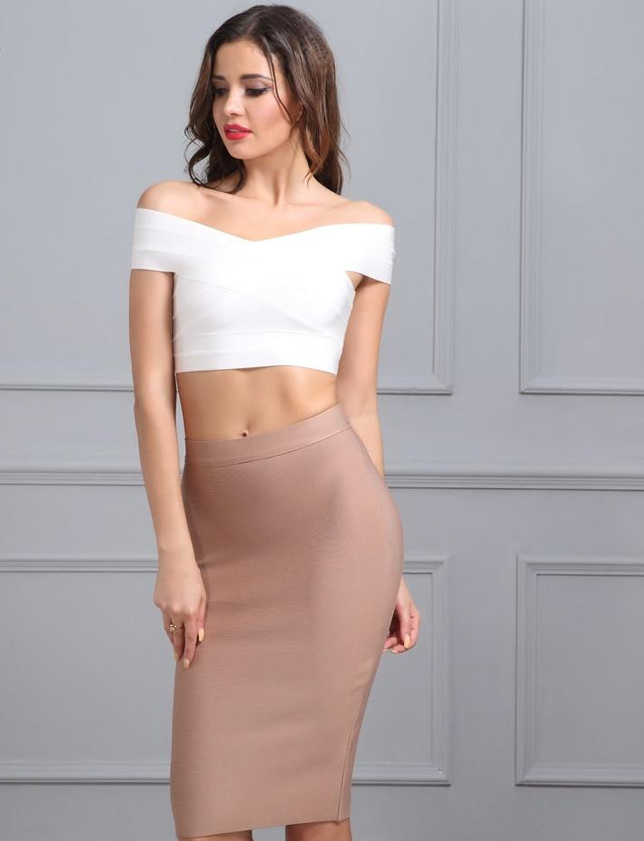 Fashion Sexy Celebrity Party Knee-length Skirt