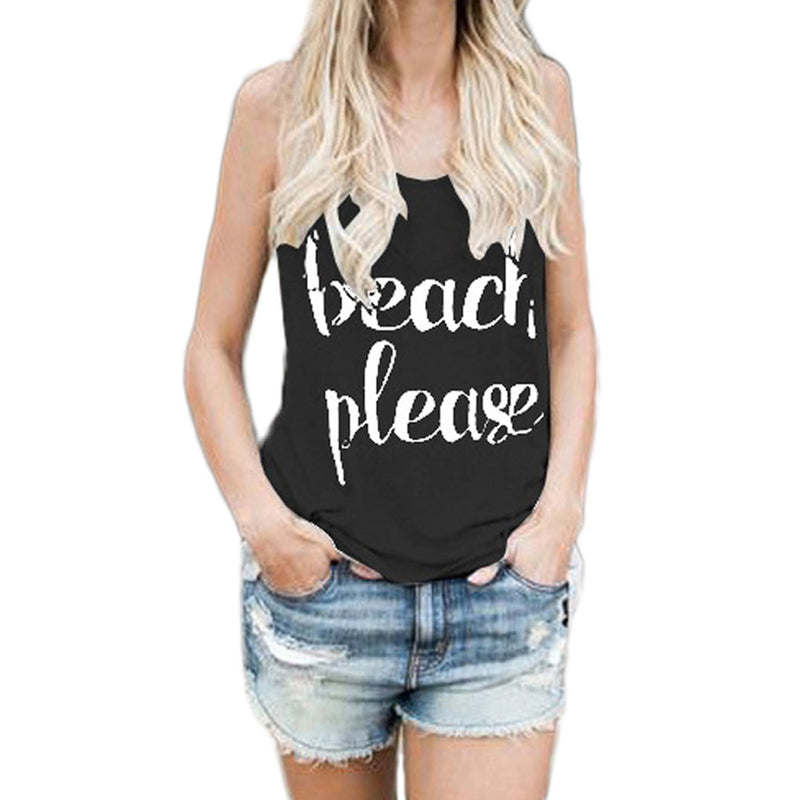 's Beach Please Tank Top