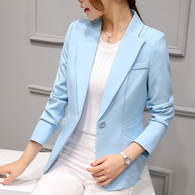 New Office Fashion Suit Blazer