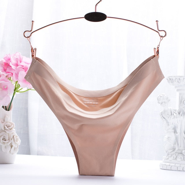new fashion ice silk seamless sexy breathable sexy low-rise panties