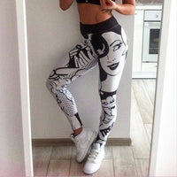 I LOVE SQUATS Letter Print Workout Leggings