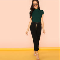 Modern Weekend Casual Slim Fit Top