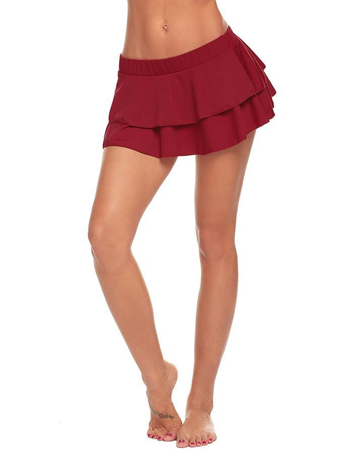 Summer Lingerie Sexy Hot Erotic Sexy Mini Pleated Skirts