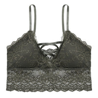 New Intimate Sexy Floral Fashion Lace Wireless Bralette