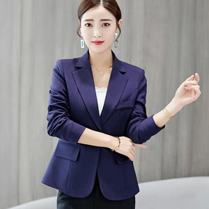 High Fashion Women's Blazer Suit, Four Colors