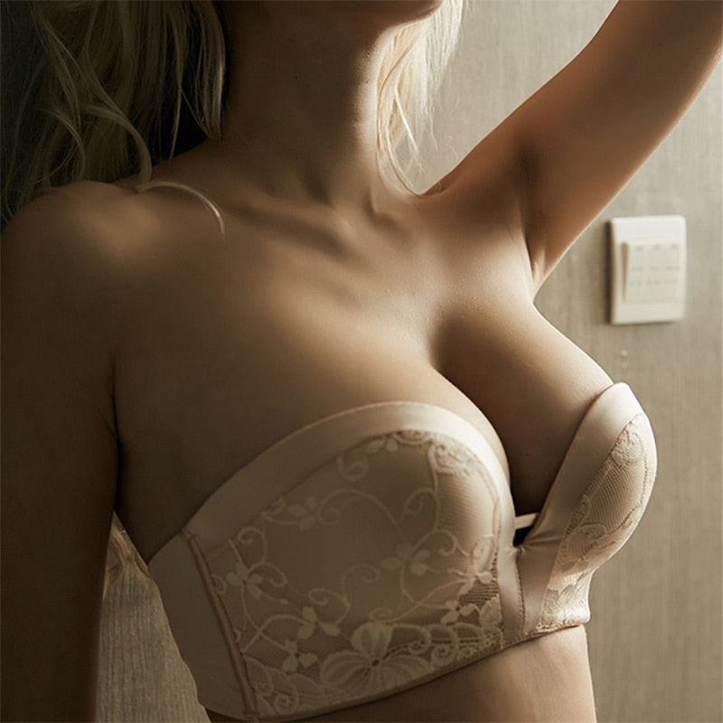 French Style Fashion Sexy Strapless Bra For Dress