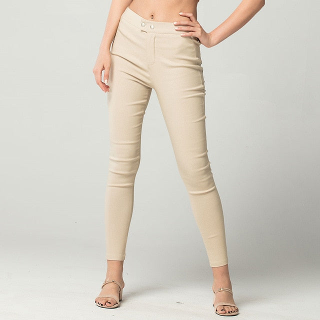 New Elasticity Bodycon Office Pants