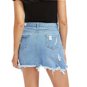 High Quality Denim Sexy Summer Cool High Casual Skirt