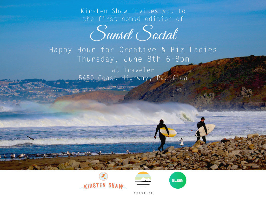 """Sunset Social"" Happy Hour for Creative Business Ladies"