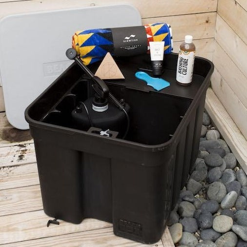 Beach Box Portable Shower & Storage Box - Fully Loaded