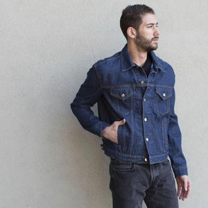 Silver Lining Men's Denim Jacket